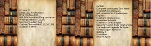 Livres et listing