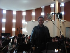 Enregistrement de l'orchestre
